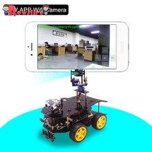 Bluetooth конечный стартовый набор программируемый умный робот автомобиль с камерой 4WD Электроника образование DIY ствол игрушка с малиной 4B