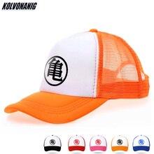 Dragon-Balls Z Goku Anime Print Mesh Cap Men Female Snapback Trucker Bone Caps Bone Sun Hat Dad Hat Adult&children Baseball Caps