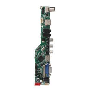 Image 3 - Universal LCD Controller Board Resolution TV Motherboard VGA/AV/TV/USB Interface Driver Board Drop Ship
