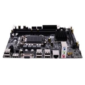 Image 2 - PPYY NEW  H55 LGA 1156 Motherboard Socket LGA 1156 Mini ATX Desktop image USB2.0 SATA2.0 Dual Channel 16G DDR3 1600 for Intel