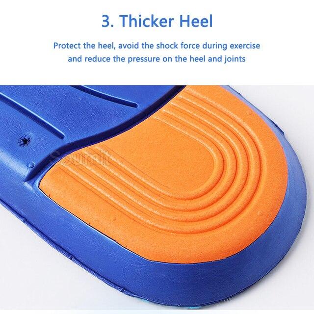 Купить стельки для обуви мужчин и женщин эластичные дышащие из пены картинки