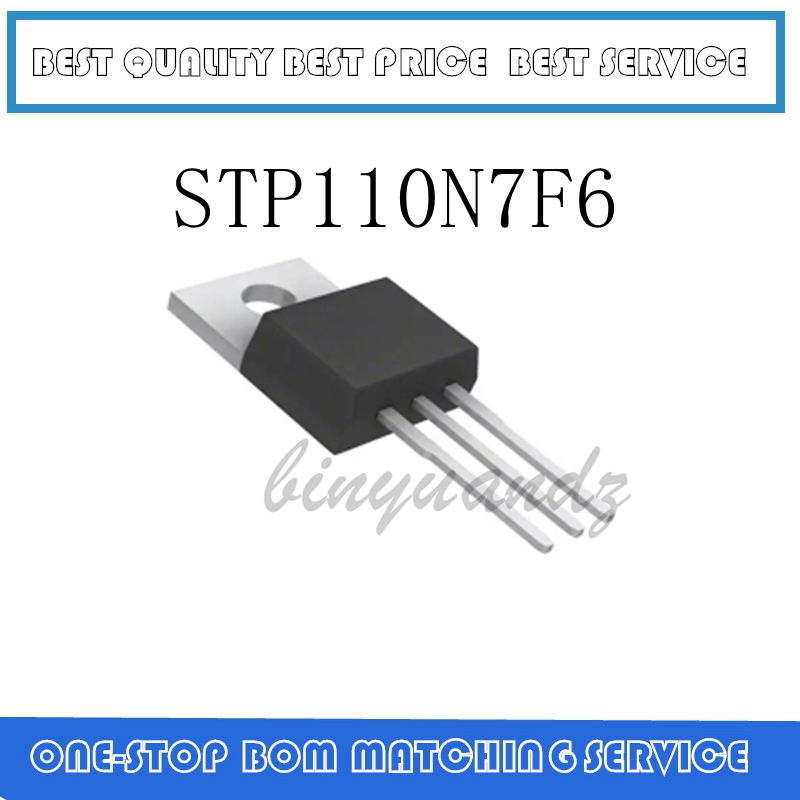 5PCS~20PCS STP110N7F6 TO-220