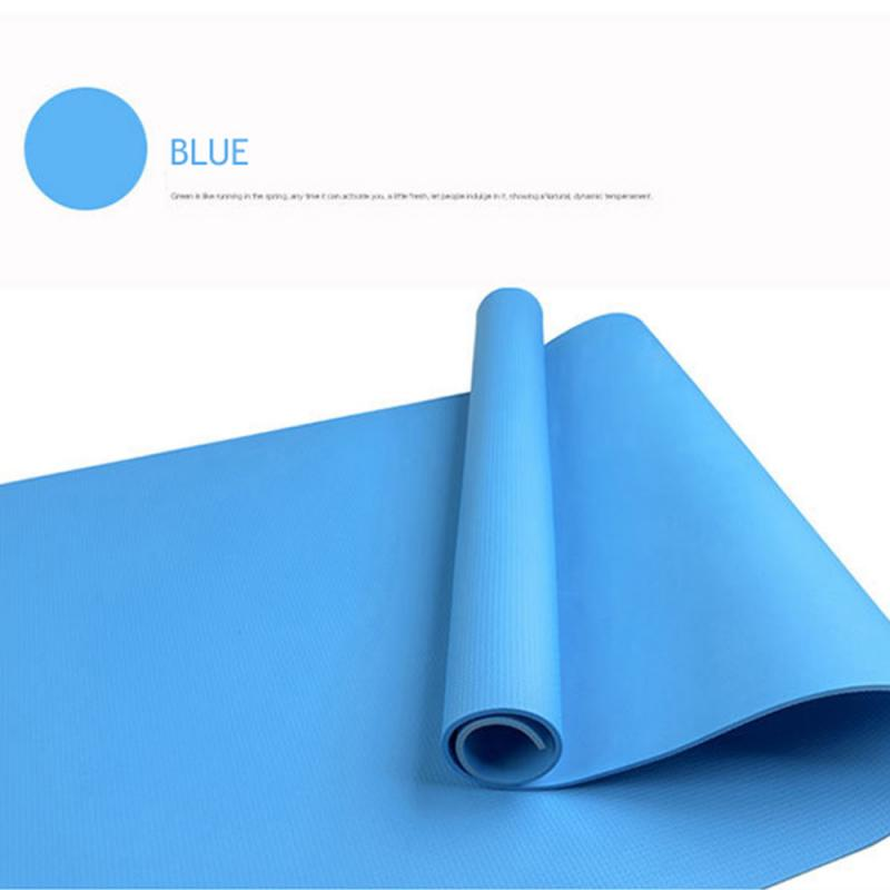 1730*600*4mm Yoga Mat Flexible Portable Folding Gymnastics Mat Comfortable Anti-shock Moisture-proof Waterproof Sport Mat