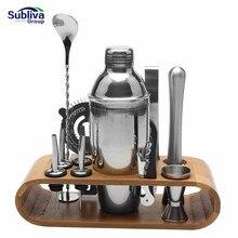 550/750 мл из нержавеющей стали шейкер Миксер для напитков бармен Browser набор баров Набор инструментов с винной стойкой