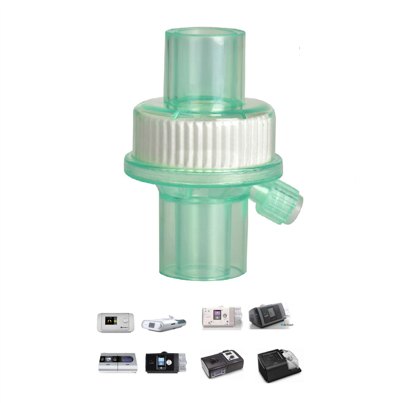 CPAP Bacterial <font><b>Viral</b></font> Filter For Breathing Mask Tube Machine Accessories Bacterium Filters for Cpap BiPAP Hose Sleep Apnea Snore image