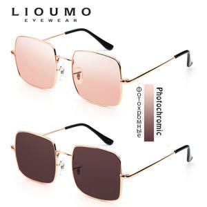 Image 3 - Top Fashion Oversized Style Sunglasses Women Polarized Ocean Color Shade Pink Chameleon Men Photochromic Night Driving Glasses