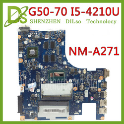 Kefu G50-70 untuk Lenovo G50-70 Z50-70 G50-70M Papan Utama ACLU1/ACLU2 NM-A271 Rev1.0 I5-4210U dengan R5 Kartu Grafis Test