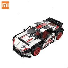 Xiaomi ONEBOT yol yarış sürüklenme sürümü küçük çelik topu yapı taşı oyuncak yüksek hızlı uzaktan kumanda araba yarış modeli
