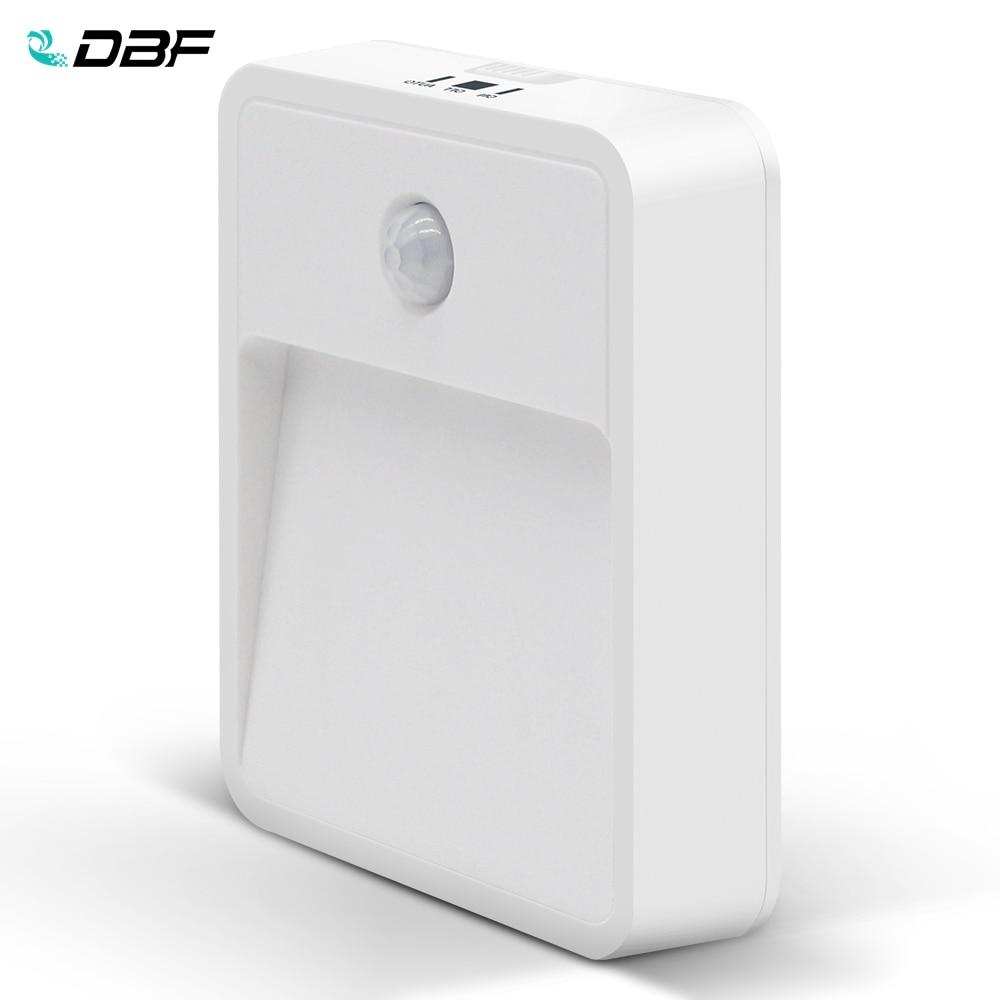 [DBF] 2LED 22lumens LED Wireless Nightlights With Motion Sensor + Light Sensor (use 4pcs*AAA Battery ) In Livingroom Or Anywhere