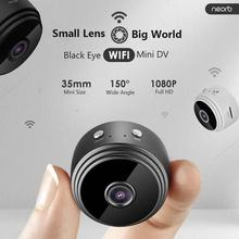 1080P Wifi Mini Camera Home Security P2P Camera WiFi Night Vision Wireless Surveillance Camera Remote Monitor Phone App