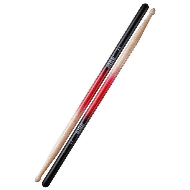 Барабанные палочки VIGOR VG-CS4 натур, красный, чёрный