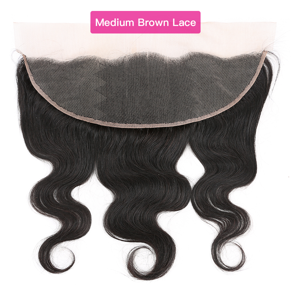 YYong 13x4 Lace Frontal With Bundles  Body Wave 3 Bundles With Frontal  With Frontal Closure Cheuveux 3