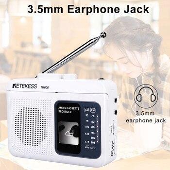 Радиоприемник RETEKESS TR606 FM/AM 4
