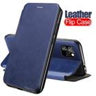 Leather Flip Case Fo...