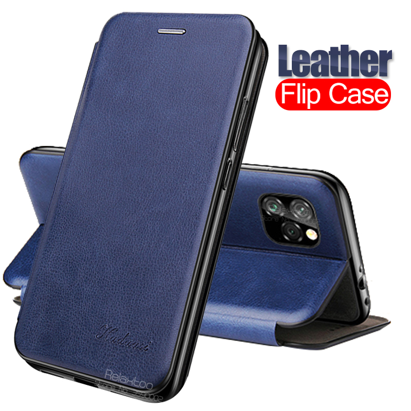 Leather Flip <font><b>Case</b></font> For iPhone 11 Pro X XR XS Max Magnetic phone book stand Cover For iPhone 8 7 6 Plus <font><b>Card</b></font> Holder coque fundas image