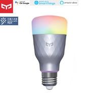 2020new Yeelight bombilla LED inteligente 1SE RGB colorido E27 WIFI APP MiHome homekit, Control remoto por voz Global para Xiaomi APP casa