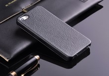 100% Genuine Leather Vertical Flip Case for iPhone 5 5S SE Litchi Stria Real Leather High Quality with Free Screen Protector