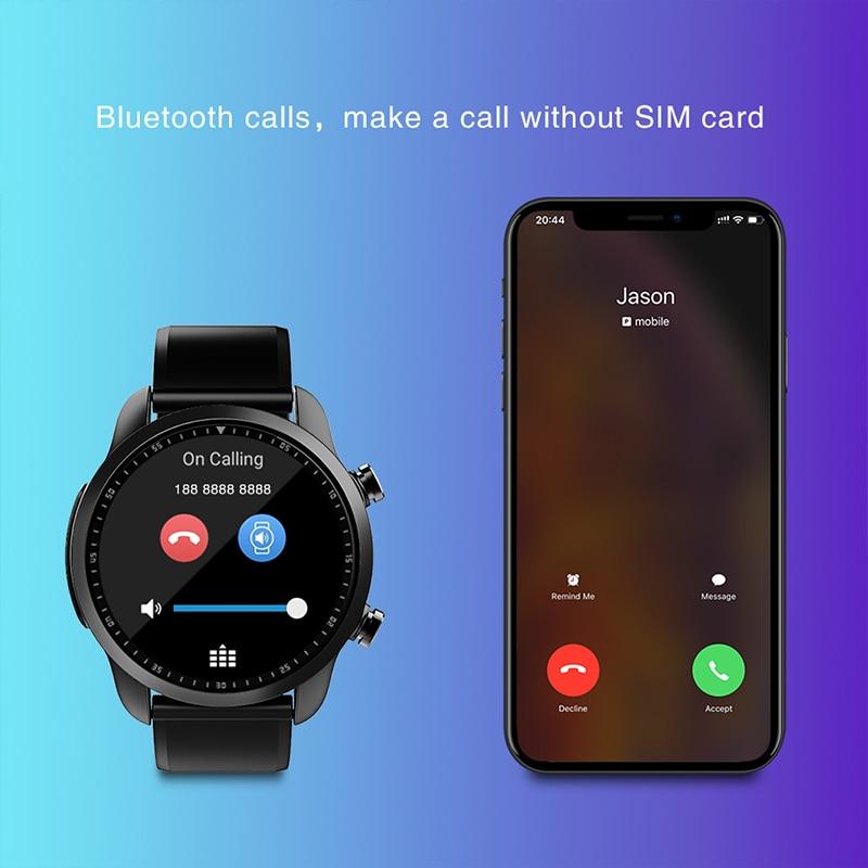 "KOSPET Brave 2 GB 16 GB Bluetooth Android 6.0 1.3 ""Touch Screen 4G Smartwatch IP68 Waterdichte MT6737 Business slimme Horloge Telefoon-in Smart watches van Consumentenelektronica op  Groep 3"