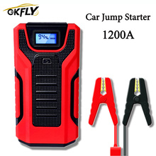 1200A High Capacity 16000mAh 12V Jump Starter Portable Starting Device Power Bank Car Charger For Car Battery Booster Buster