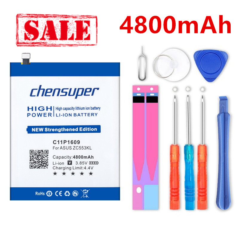 chensuper 4800mAh C11P1609 <font><b>Battery</b></font> for <font><b>ASUS</b></font> Zenfone 3 max 5.5