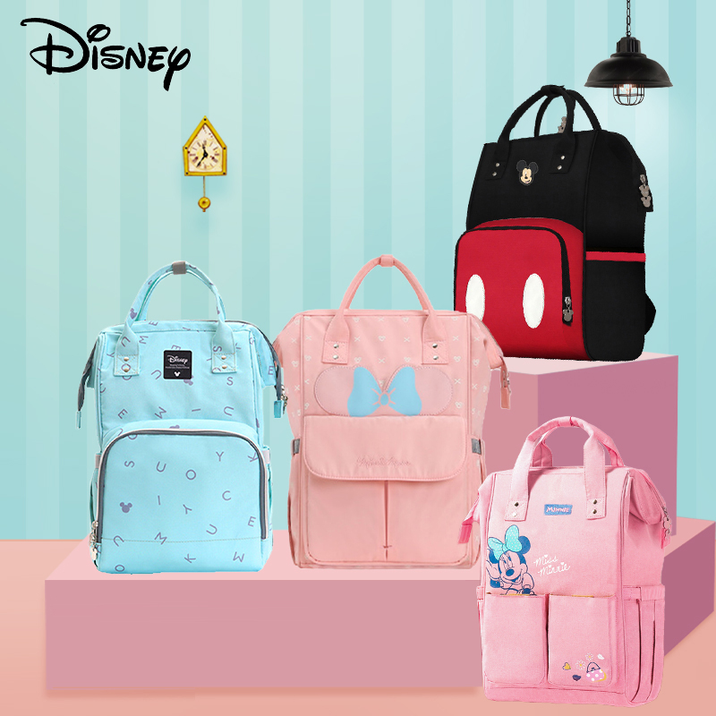 Disney 2019 Year Baby Stroller Bags Usb Large Capacity Mummy Nappy Bag Fashion Mummy Maternity Nappy Bag Baby Diaper Bags