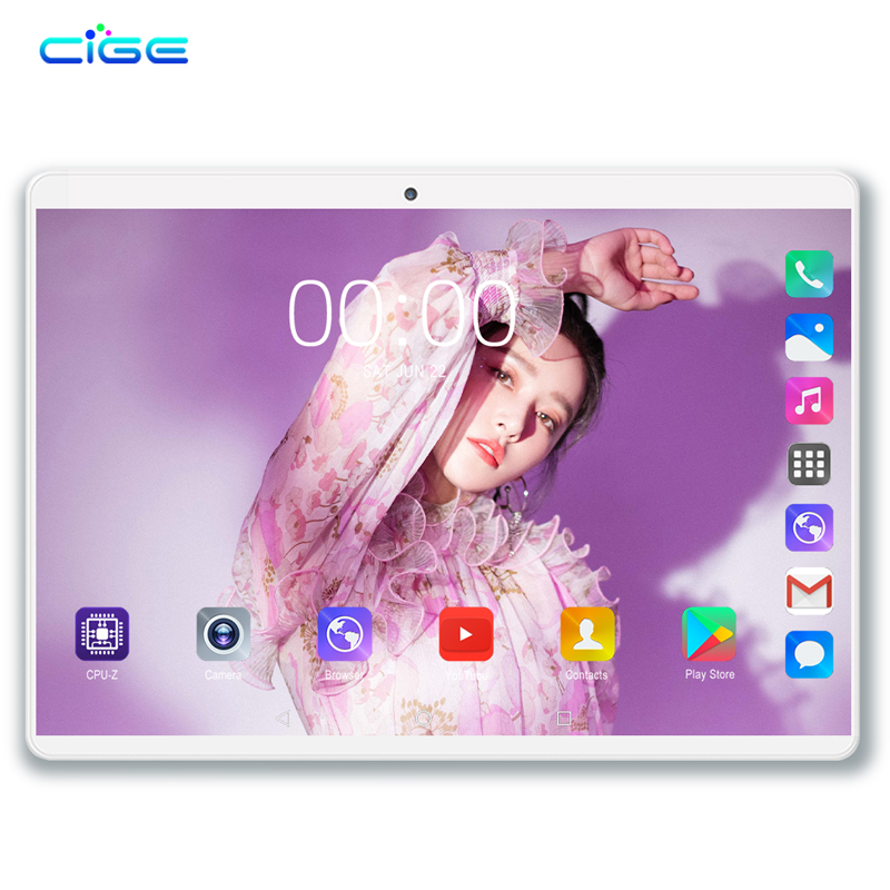 CIGE N9 10 Inch Tablet PC 4G Lte Android 8.0 Octa Core Super Tablets Ram 6GB Rom 64GB WiFi GPS 10.1 Tablet IPS Dual SIM GPS