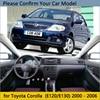 Dashboard Cover Protective Pad for Toyota Corolla E120 E130 2000 2001 2002 2003 2004 2005 2006  Dash Board Sunshade Carpet Car review