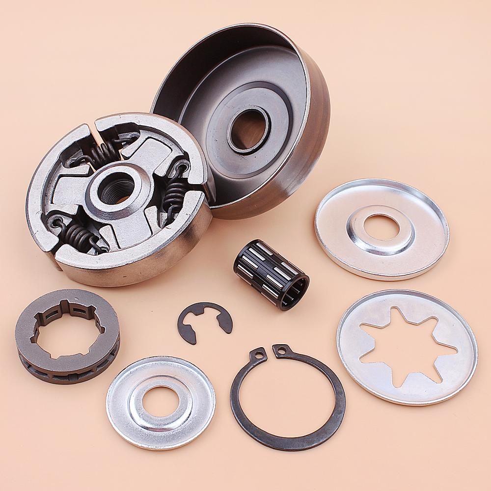 home improvement : 3 8inch Clutch Drum Sprocket Rim Bearing Washer Repair Kit For Stihl MS380 038 MS 380 Chainsaw 1119 0007 1003