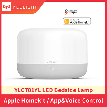 Yeelight YLCT01YL Smart LED Bedside Lamp Colorful Night Light Table Lamp Soft Bright APP Voice Control Support Apple Homekit