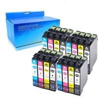 16 팩 엡손 T502 XL 잉크 카트리지 호환 엡손 식 홈 XP-5105 XP-5100 XP5105 XP5100 인력 WF-2860DWF