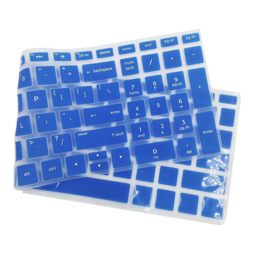 Hight Quality Notebook Keyboard Stickers Skin Cover Keycaps for HP 15.6''BF Laptop soft Silicone-2