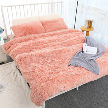 160*200cm Elegant Throw Blanket for Bed Sofa Bedspread Long Shaggy Soft Warm Bedding Sheet Air Conditioning Blanket Modern