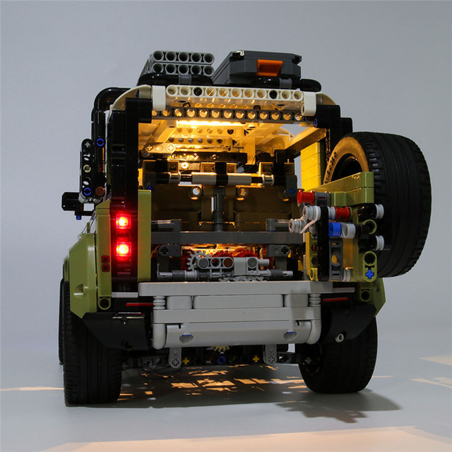 USB Powered Building Blocks LED Lighting Kit for 42110 blocks accessories (LED Included Only, No Kit) 5