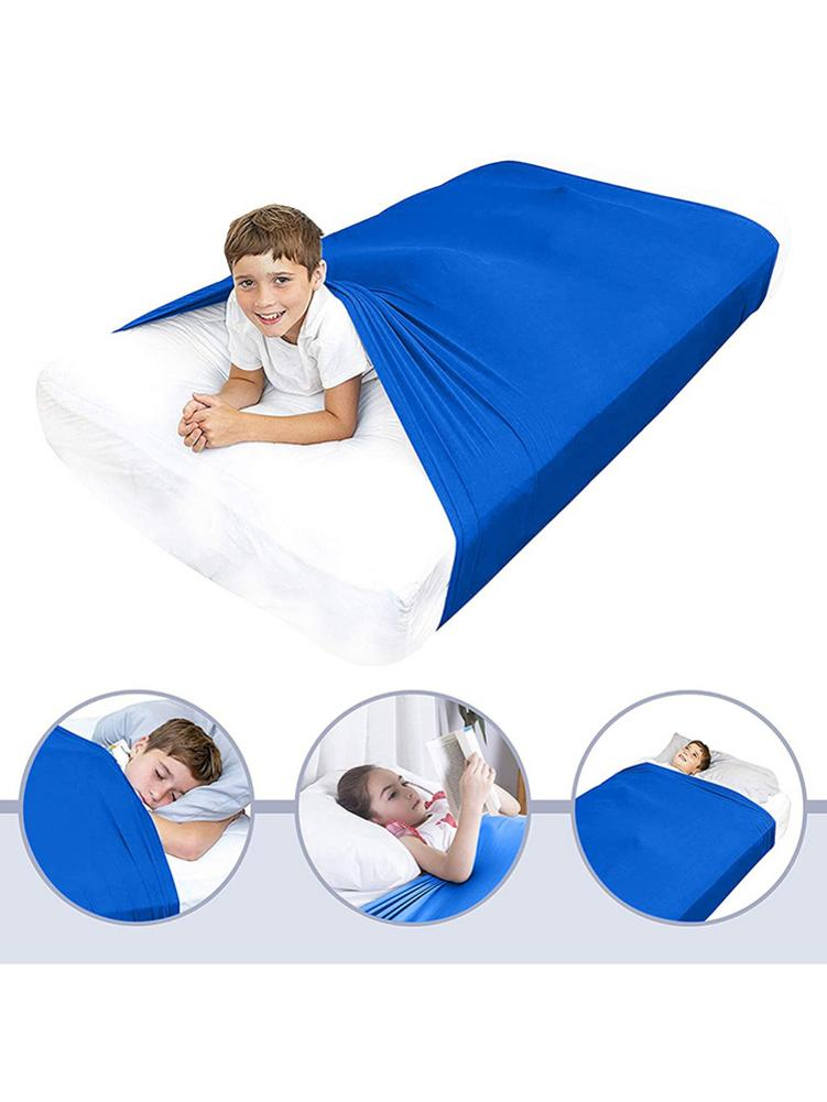 COMPRESSION// SENSORY LYCRA BED SHEET, ALL SIZE WEIGHTED BLANKET ALTERNATIVE