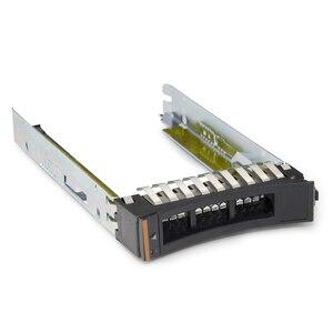 Image 1 - 30 قطعة/الوحدة 2.5 44T2216 SAS SATA HDD القرص الصلب علبة العلبة ل IBM X3650 X3850 X3950 X5 M3 M4 خادم قوس