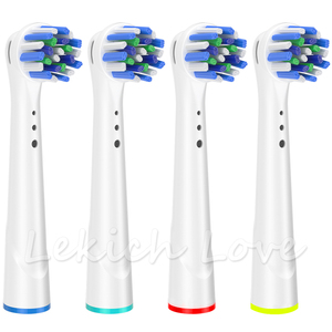 Image 5 - 16Pcs Cross Clean Toothbrush Heads for Oral B Toothbrush Heads fit Oral B Braun Toothbrush D12,D16,D29,D20,D32,OC20,D10513, DB45