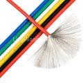 5 m/lote de alambre electrónico de silicona UL3239-14/16/18/20/22/24/26/28/30 # AWG 200 grados Celsius cable suave de alta temperatura