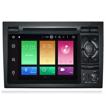 4GB 2 Din Car Radio GPS Android 10 Car DVD Player for Audi A4 B8 S4 B6 B7 RS4 8E 8H B9Seat Exeo 2002-2008 Navigation Multimedia image