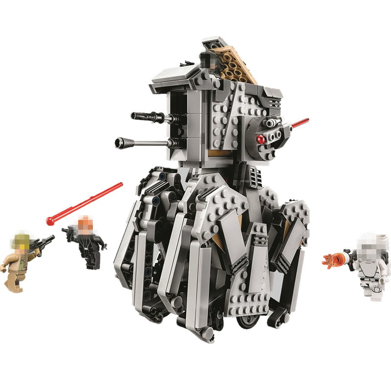 HOT NEW Star Wars First Order Heavy Scout Walker STARWARS Building Blocks Sets Bricks Classic Model Compatible image