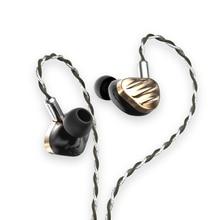 BGVP – écouteurs intra-auriculaires twles Sonion 7BA + 2DD, hi-fi, moniteur, avec câble détachable, bouchons d'oreilles MMCX