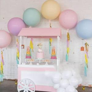 Image 3 - 5/10/18/24/36 inch Pastel Candy Balloons Wedding Party Round Helium Macaron Balloon Arch Decoration