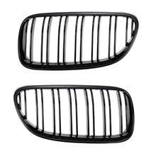 цена на 2PCS Front Bumper Center Kidney Grille Grill for BMW 3 Series 2 Door E92 E93 316i 320d 320i 323i 325d 325i 330i 10-14