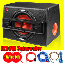 1200W Active Trapezoidal Overweight Car Audio Subwoofer