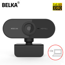 1080P Webcam Computer Full HD Web Camera With Microphone Rotatable Cameras For Live Broadcast Video Calling Conference Work
