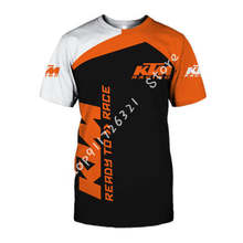 2020 venda quente nova red bull ktm 3d t camisa camisa dos homens das mulheres do menino da menina camiseta esporte ocasional