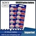 2021 Новая модель 10 шт. CR1620 Кнопка Батарея ECR1620 DL1620 5009LC ячейки литий Батарея 3V CR 1620 для мобильного часо-Электронная игрушка пульт дистанционног...