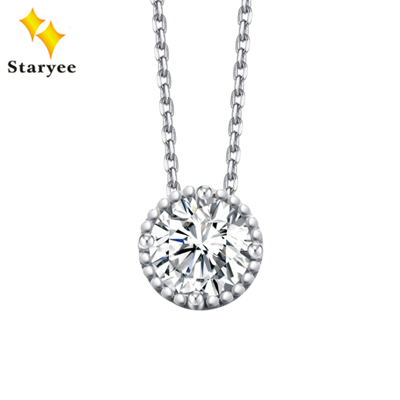 2CT 14K SOLID WHITE GOLD PEAR SHAPE SIMULATED MOISSANITE IMITATION