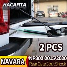 Porta traseira strut choque portão da cauda gás lento para navara np300 d23 2015 2016 2017 2018 2019 acessórios do carro