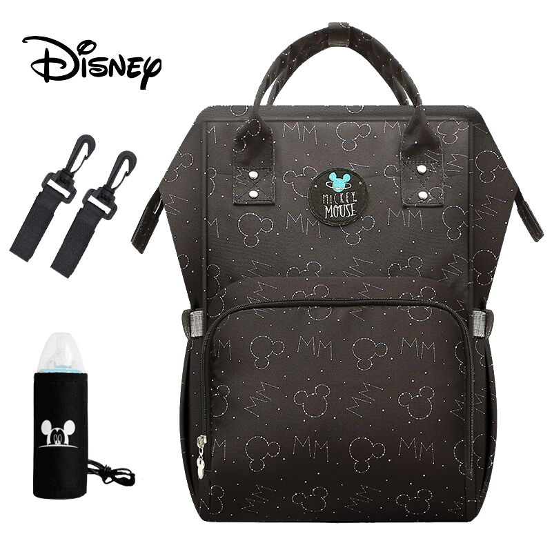 Disney Mummy Maternity Nappy Bag Large Capacity Baby Mickey Mouse Diaper Bag Travel Backpack Nursing Bags For Baby Care Wet Bag