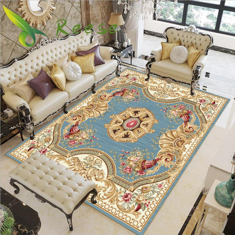 Aliexpress Sale Modern Soft Persian Carpet For Living Room Non-slip Antifouling Carpet For Bedroom Parlor Factory Direct Supply